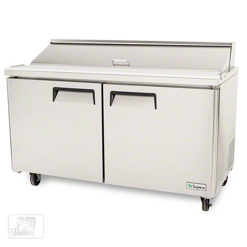 "Supera (SSPT2R6-1) - 60"" Sandwich/Salad Prep Table | FoodServiceWarehouse.com"