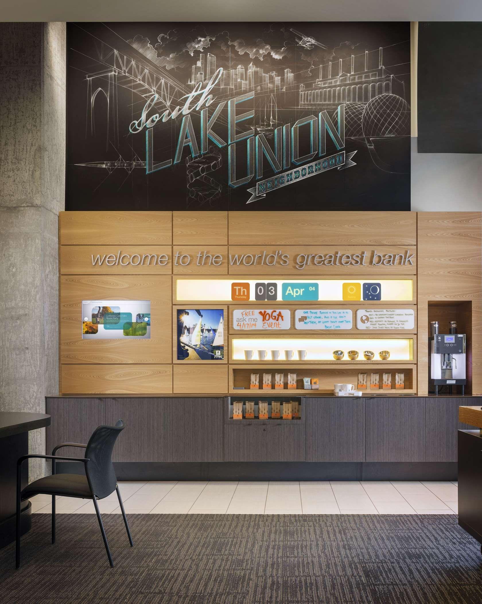 Architizer Bank design, Design, South lake union