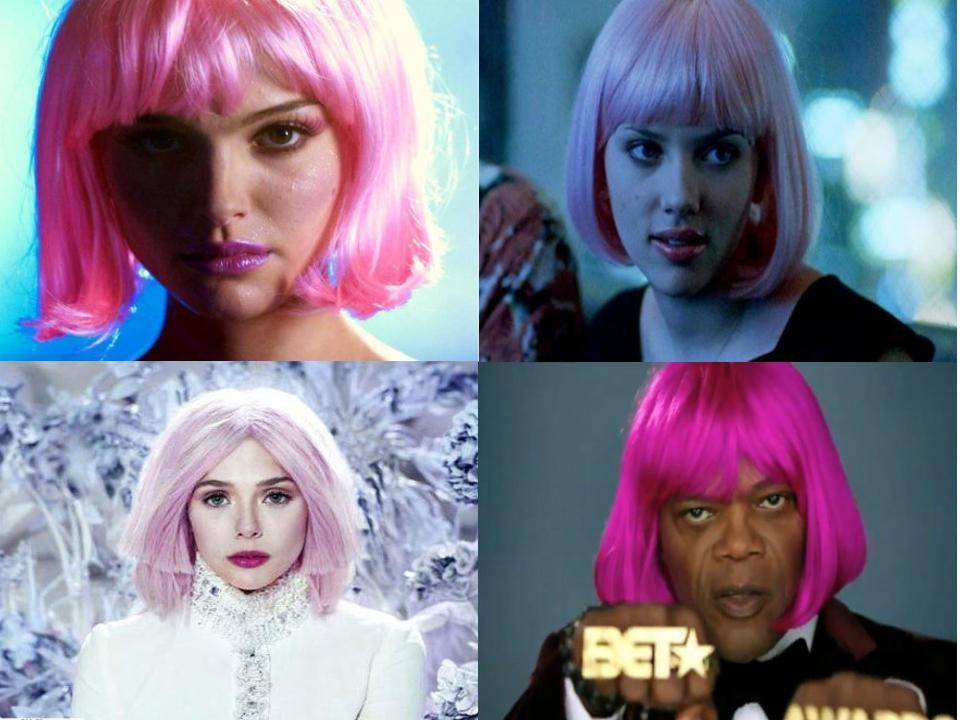 Marvel Actors Pink Hair I Did A Thing Lol Marvel Actors Pink Hair Actors