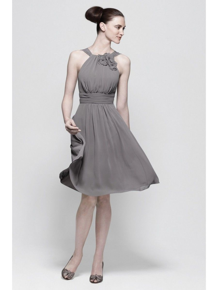 A line knee length chiffon grey bridesmaid dresses grey a line knee length chiffon grey bridesmaid dresses homecoming cocktail graduation dresses 301030 ombrellifo Gallery