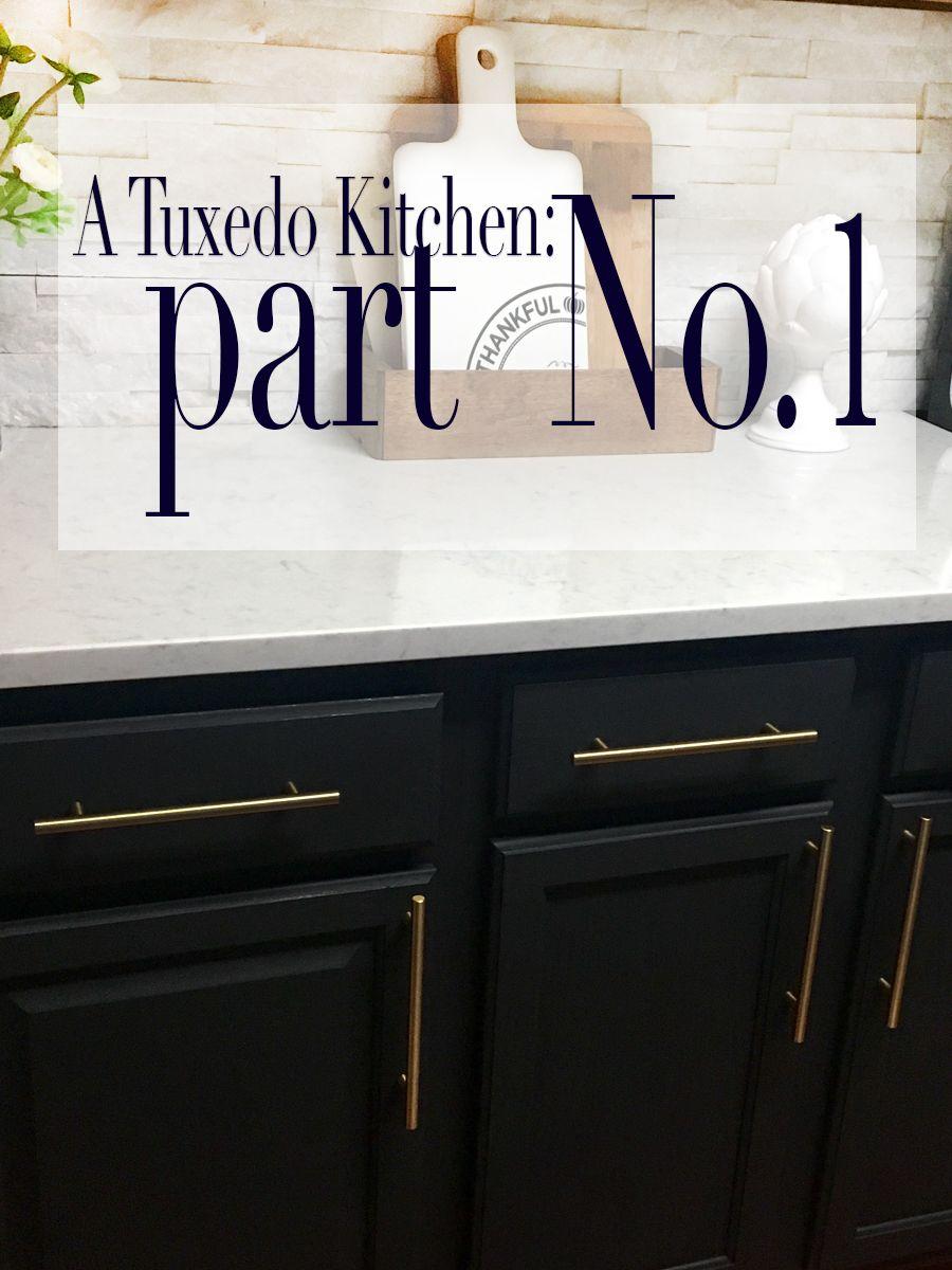A Tuxedo Kitchen Renovation Part No 1 Glammed Events Kitchen Renovation Kitchen Interior Interior Design Kitchen