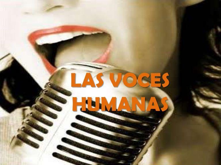 PowerPoint relativo a la clasificación de la voz humana. #clasificaciónvoz #voz #unidad1