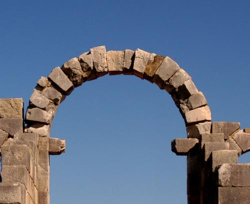 Handmade Stone Arch Keystone Keystone Arch Diagram With Images