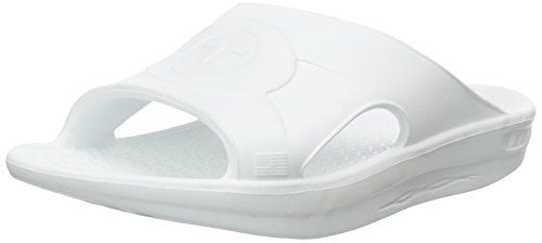 Telic Unisex Slide Sandal White 9 BM US WOMEN8 DM US MEN ** This is an Amazon Affiliate link. To view further for this item, visit the image link.