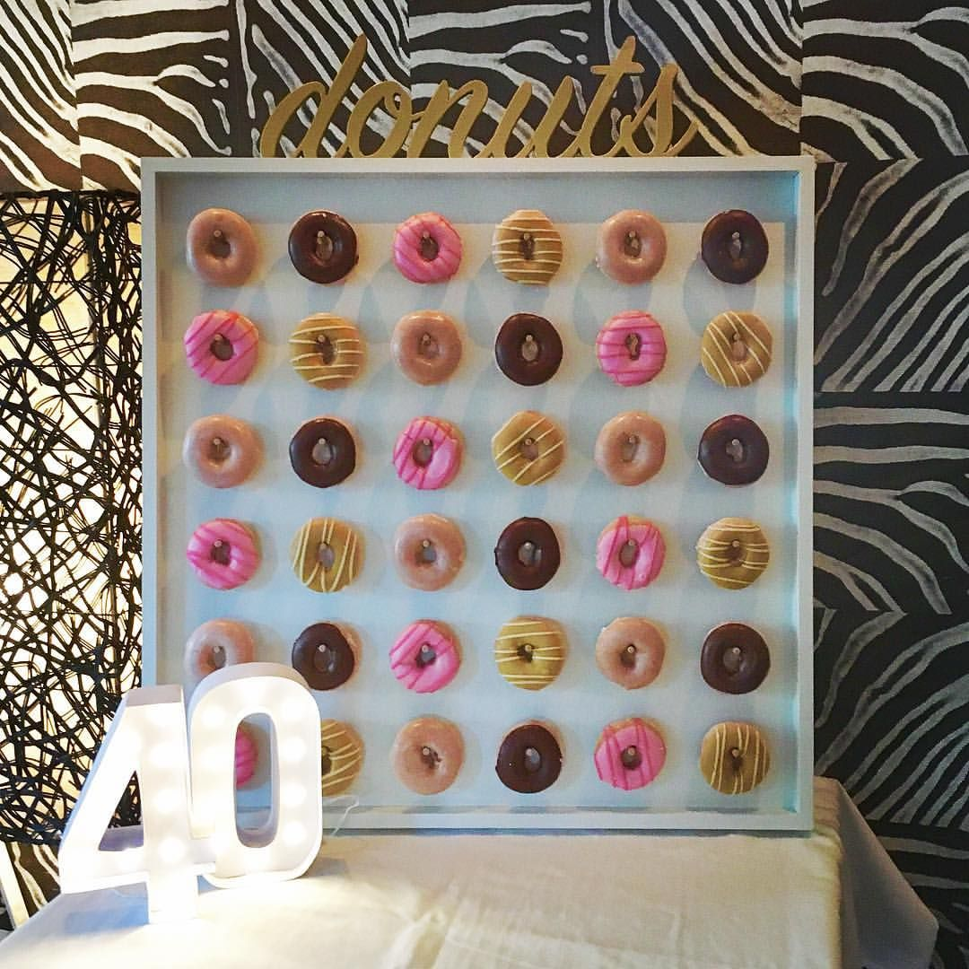 Our medium donutwall holds 36 donuts krispykreme 40th