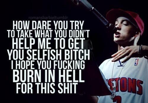 Cleaning out my closet eminem lyrics Eminem quotes