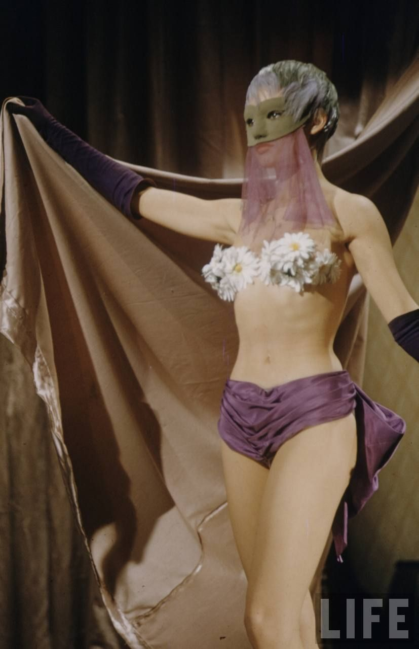 I Think These Photos Are From The 1958 Movie Mlle Striptease 1