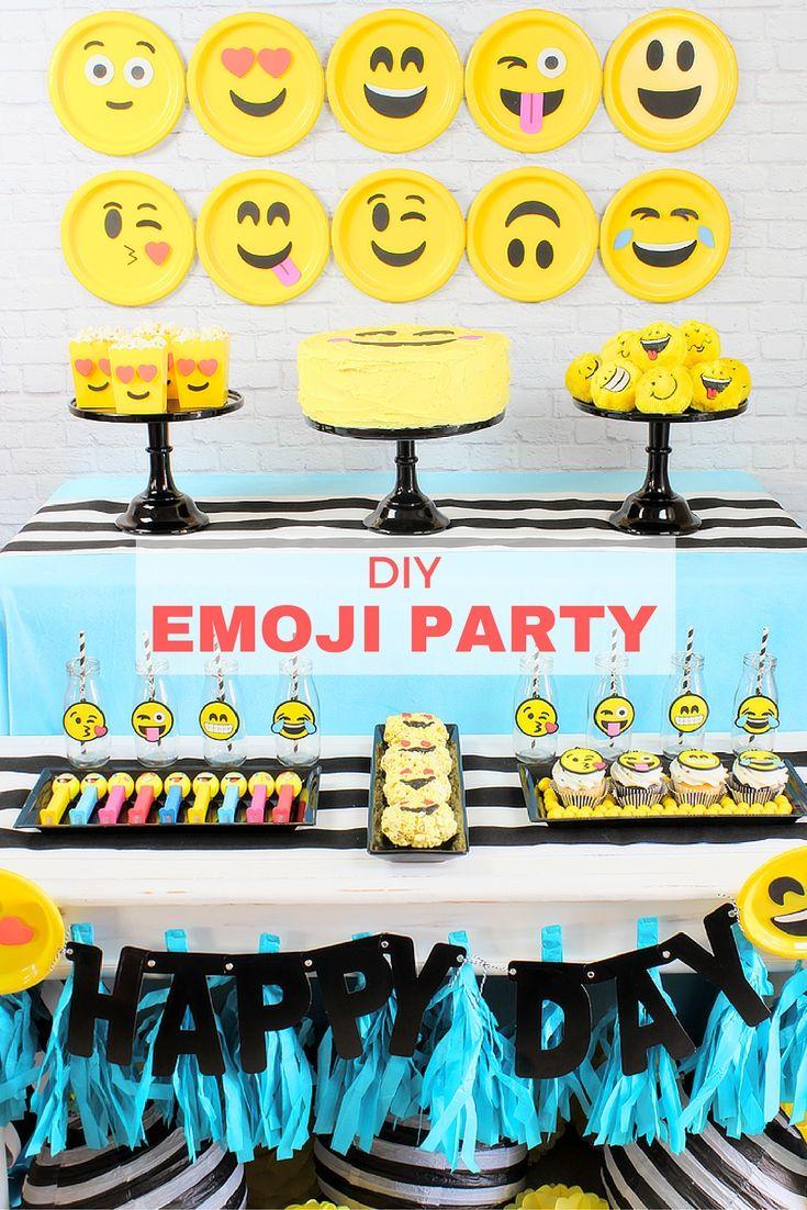 Emoji Theme Party