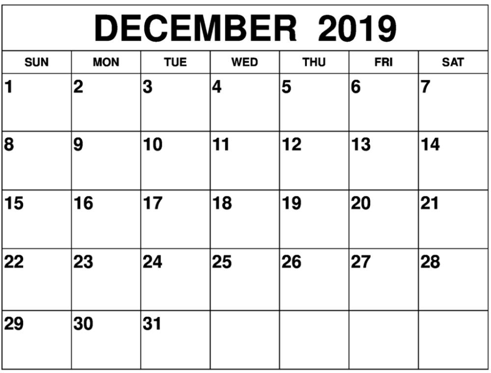 December 2019 Calendar Template Pdf And Word Printable Calendar Holidays 2019 September Calendar Calendar Printables Free Printable Calendar Templates