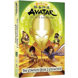 Avatar The Last Airbender The Complete Book 2 Collection 5 Box