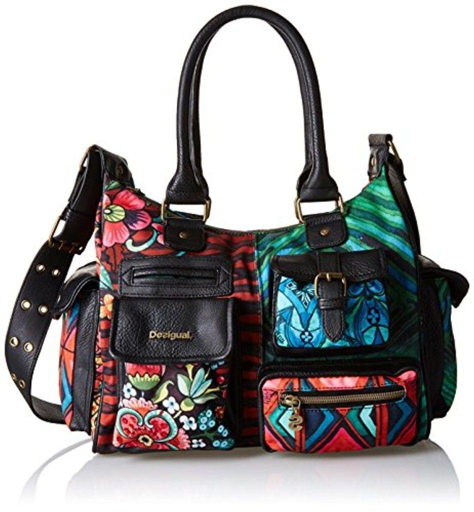 Trends Sacs à main Handbags : Sac Desigual Bowling Tribal