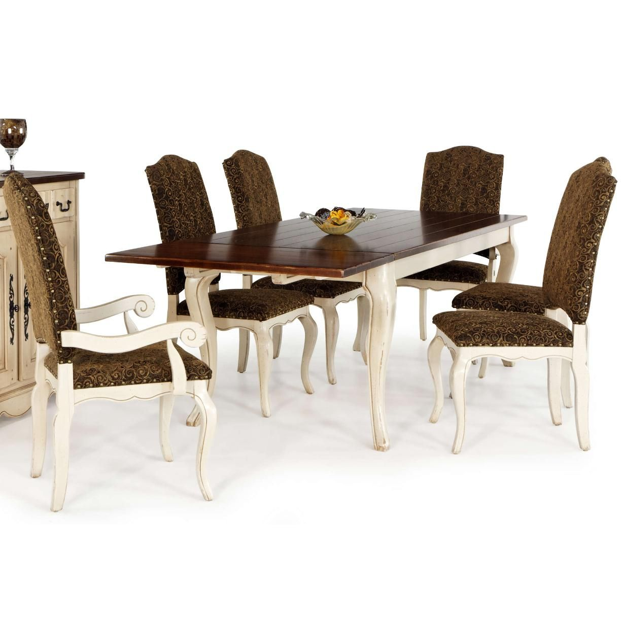 Bellagio Customizable 7 Piece Rectangle Dining Set By Canadel   Wayside  Furniture