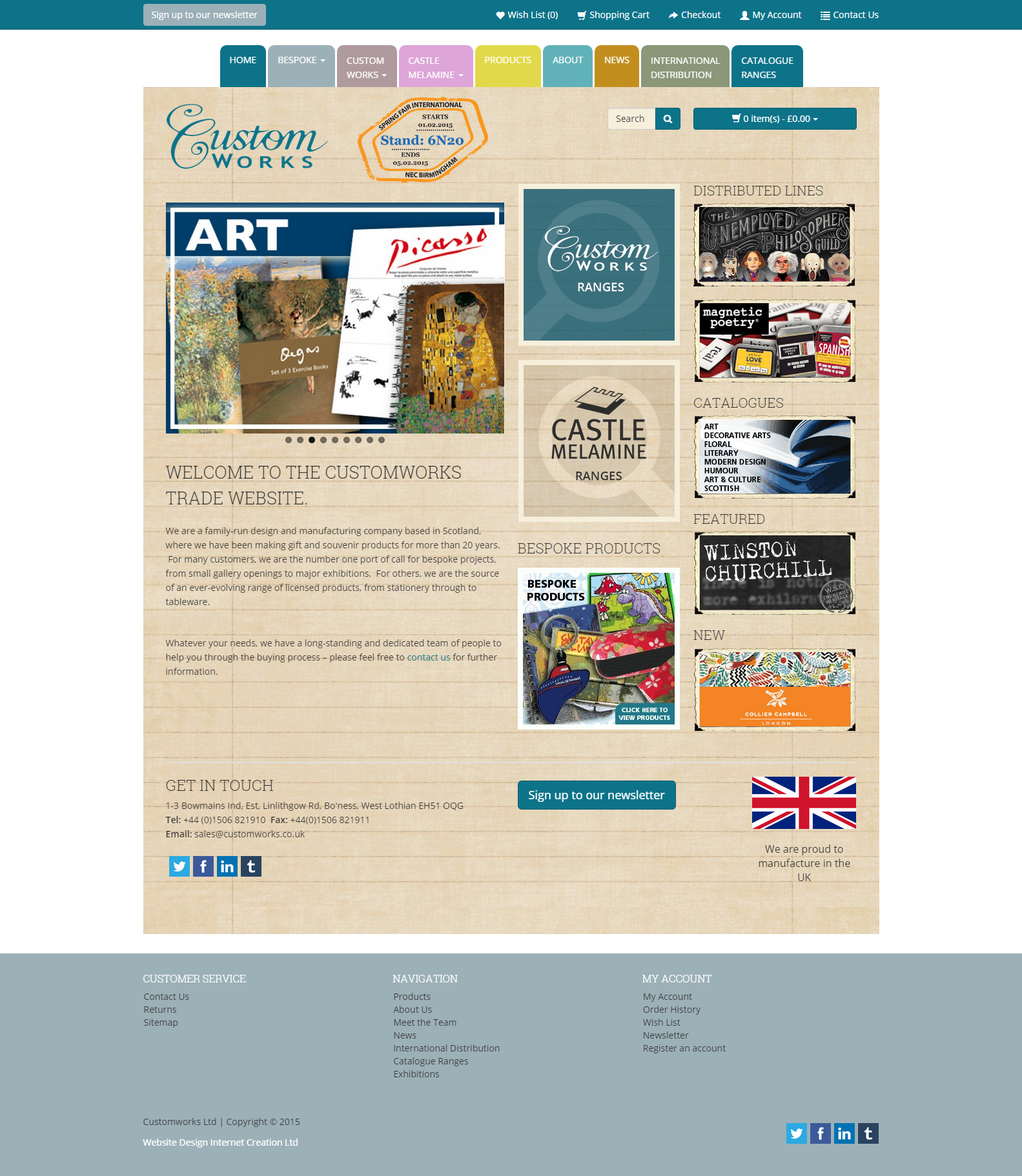 Custom Works - a family run design and manufacturing company - http ...