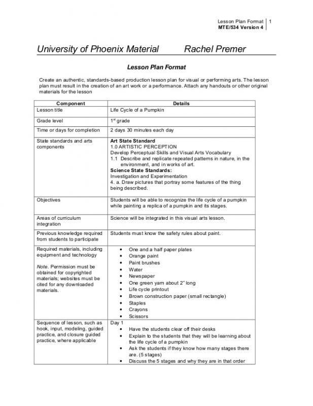 College Lesson Plan Template Template Pinterest Lesson Plan