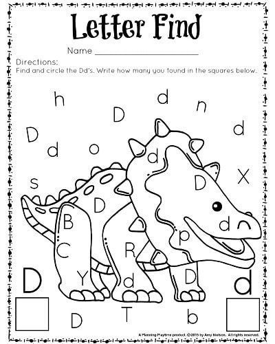 cute letter find worksheets with a freebie preschool letter worksheets for preschool. Black Bedroom Furniture Sets. Home Design Ideas