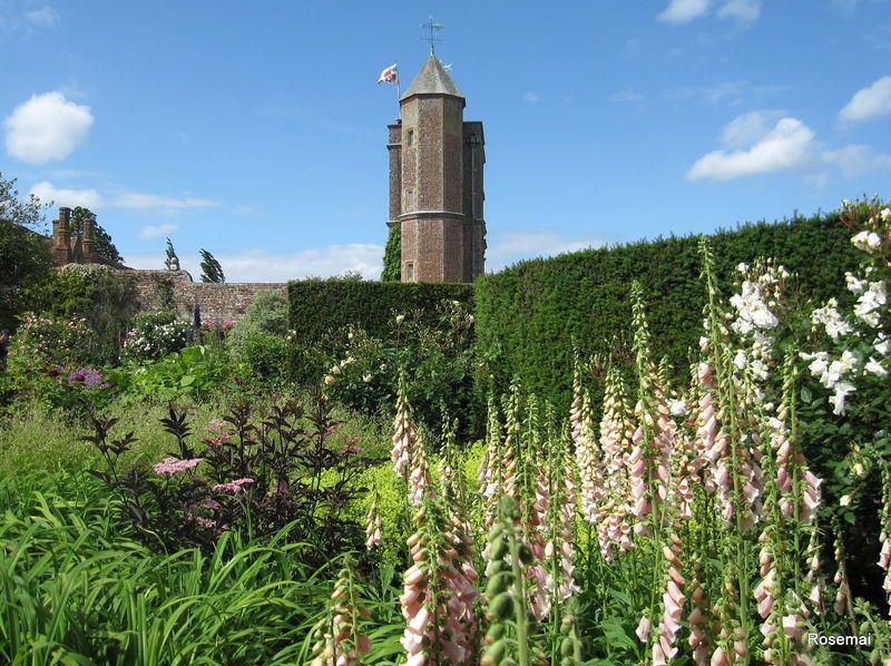 Sissinghurst Castle 1 Jardin rose, Jardin anglais et Jardins