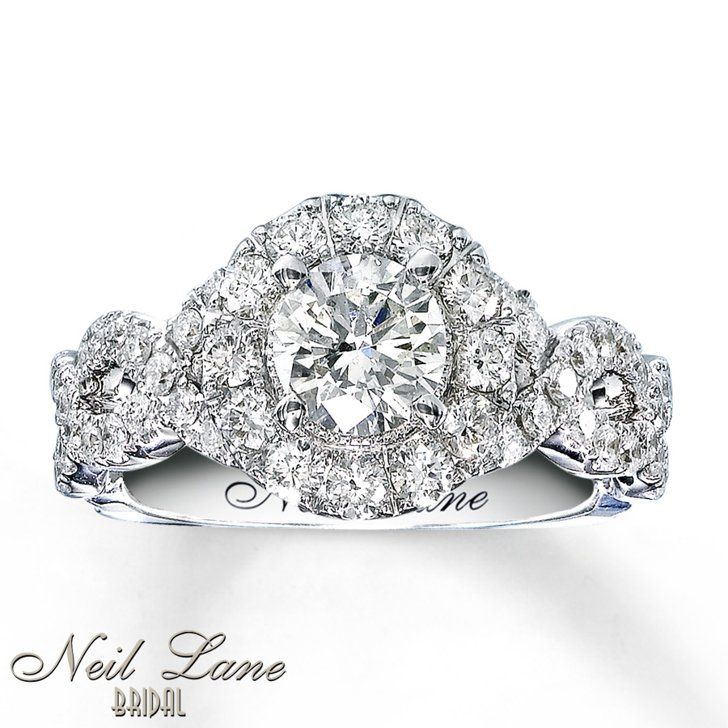 Pin for Later: 20 Stunning Diamond Engagement Rings Under $3,000 If You Want Something Celeb-Worthy Kay Jewelers Neil Lane Engagement Ring 1 ct tw Diamonds 14k White Gold  ($2,770)