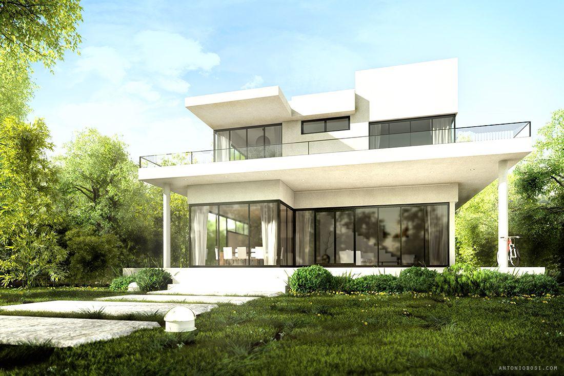 Exterior render tutorial mental ray maya landscape for Exterior rendering