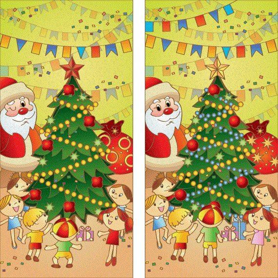 рождество найди отличия картинки: 11 тыс изображений ...