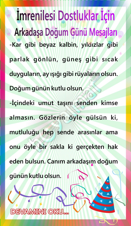 Imrenilesi Dostluklar Icin Arkadasa Dogum Gunu Mesajlari Words Word Search Puzzle