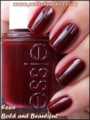 De mis colores favoritos para las uñas.