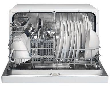 Amazon Com Danby Ddw611wled Countertop Dishwasher White Appliances Countertop Dishwasher Dishwasher White Portable Dishwasher
