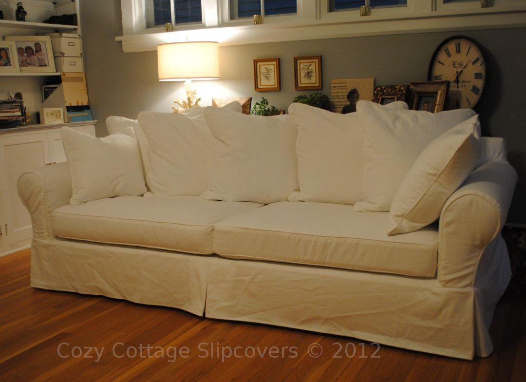 Lovely Large Sofa Slipcover | Doll house | Sofa, Large sofa, Couch