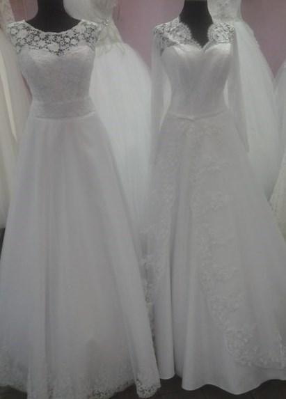 Свадебное платья в апрашке
