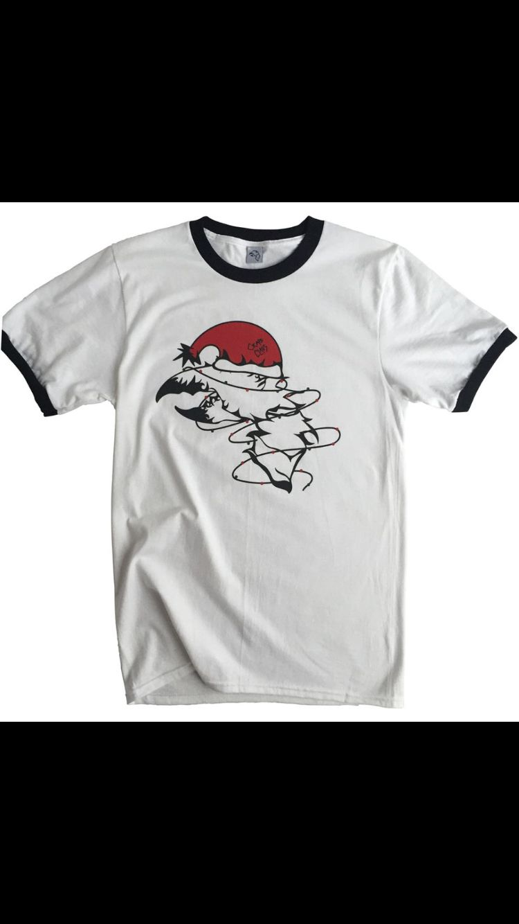 Crab Claus for dinner? Not this time around! Here is our limited edition holiday t-shirt hot off the press! Check out our website for the newest styles and don't forget to get one of these tees for the crab enthusiast in your life! www.crabterror.com