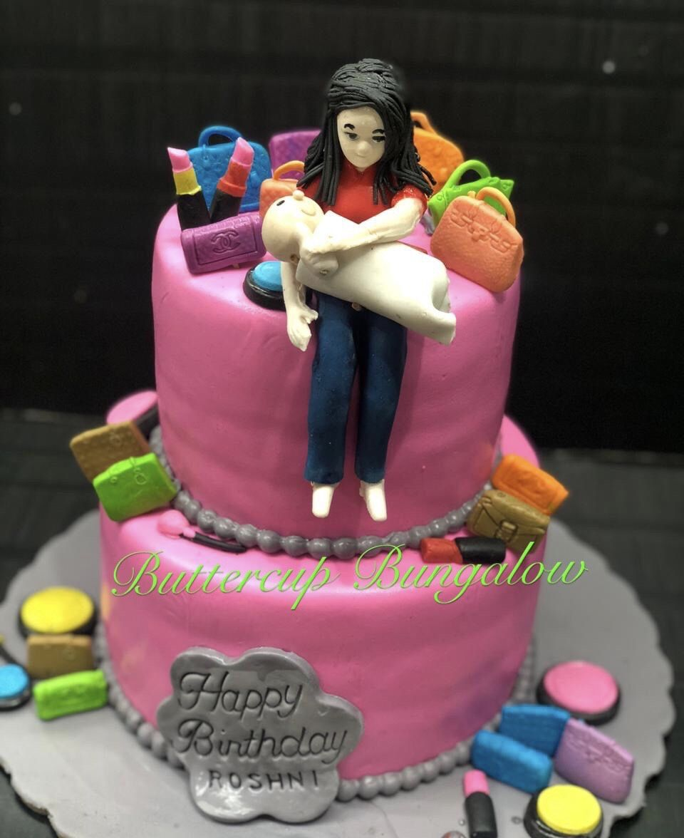 Cake For A New Mother With Images Mother Birthday Cake Mother