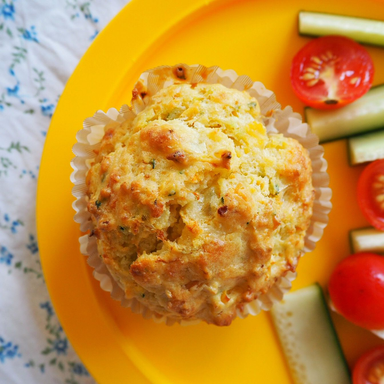 Easy One Bowl Savoury Muffins My Lovely Little Lunch Box Recipe Savory Muffins Recipes Savory