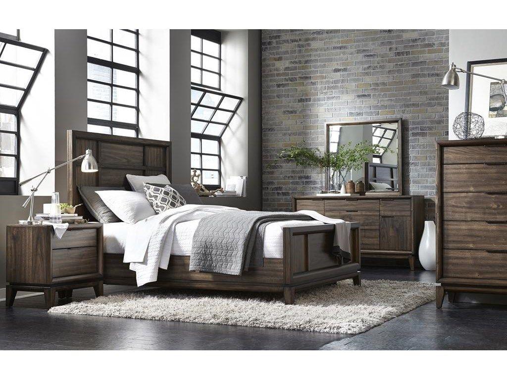 Modus Bedroom Urban Retro Queen Bed 2rc7 Living Furniture Torrance Los Angeles