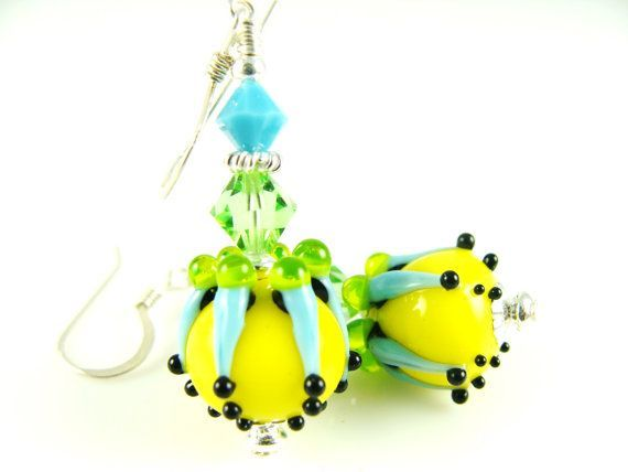 Vintage Lampwork Dangles - Yahoo Image Search Results