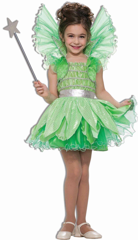 forum novelties green sprite costume childs medium - Green Fairy Halloween Costume