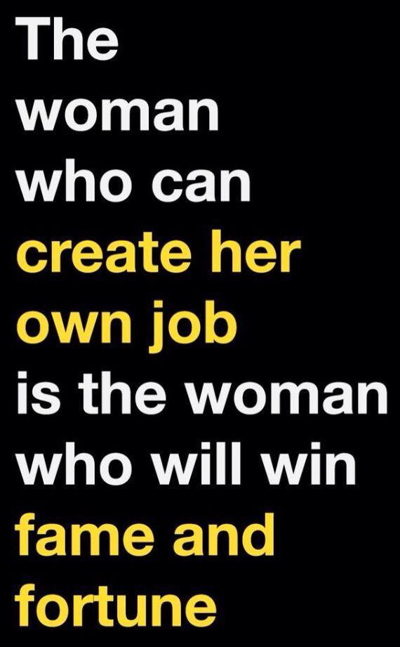 words to describe a career woman