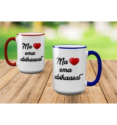 96286b81787 Tass Armastan abikaasat Kui otsid armsat ning praktilist kingitust oma  kallile abikaasale, siis kruus Armastan abikaasat on super kingiidee.