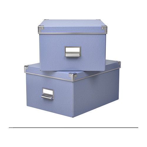 Decorative File Storage Boxes With Lids Kassett Box With Lid Ikea This Box Is Suitable For Storing Your