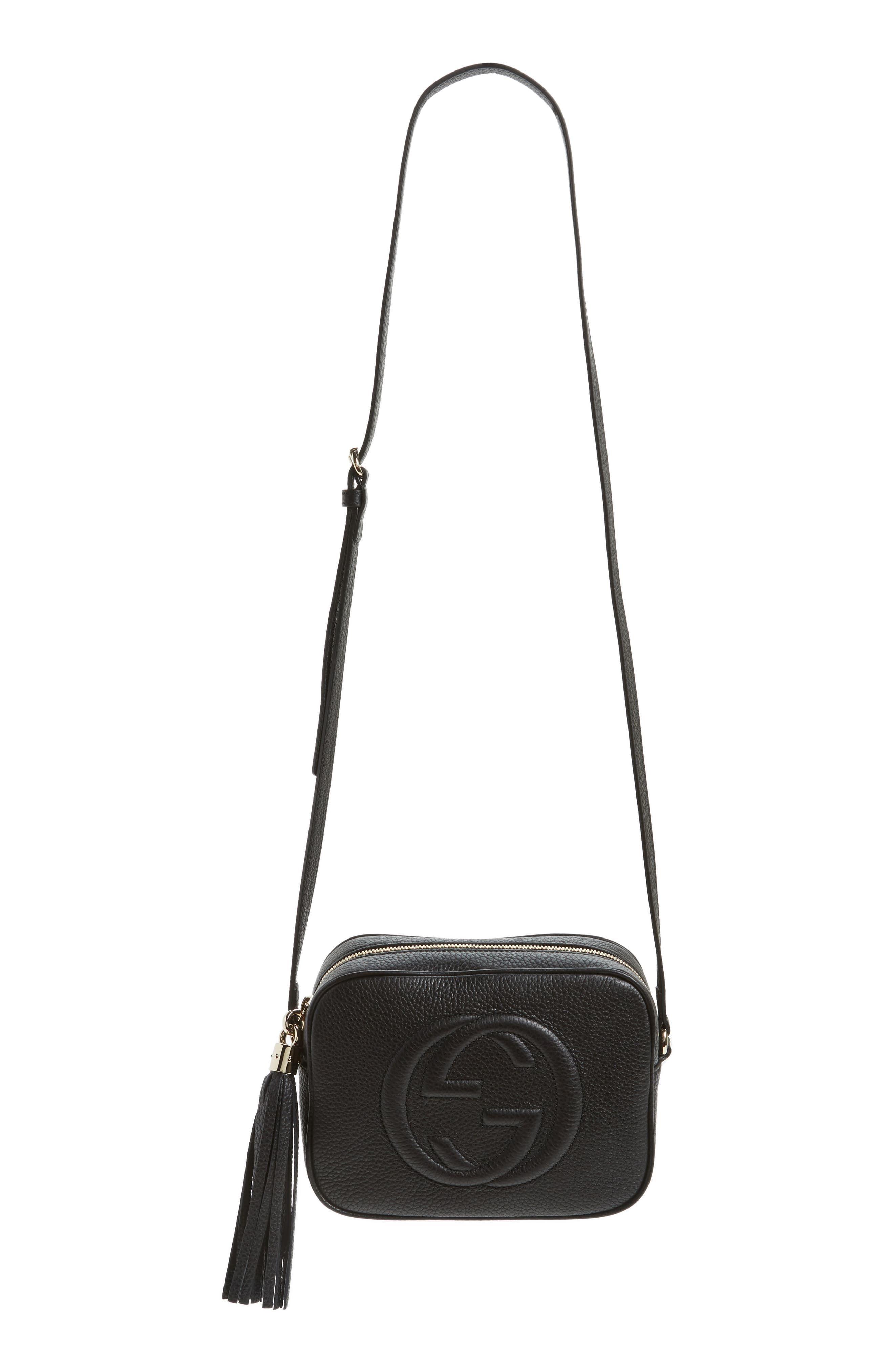 f179bf5e9 Gucci Soho Disco Leather Bag - Black in 2019   Products   Gucci soho ...