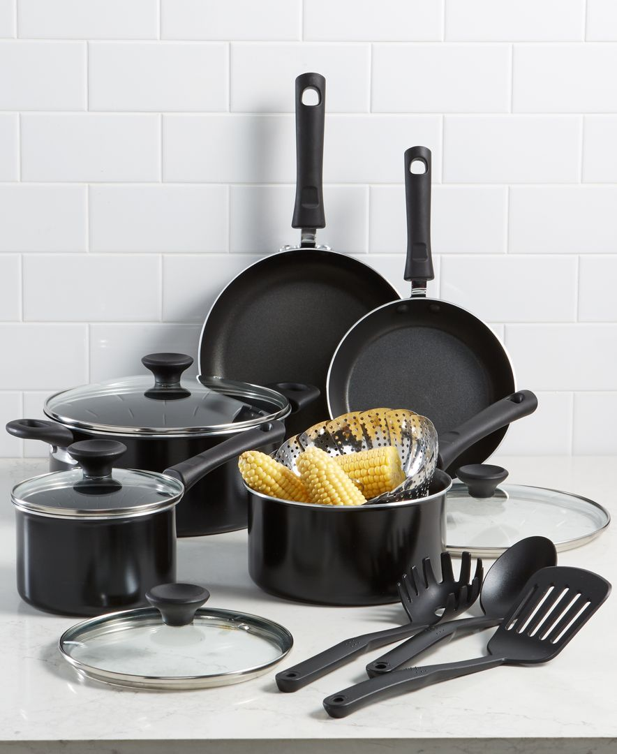 Tools Of The Trade Nonstick 13 Pc Cookware Set Created For Macy S Reviews Cookware Sets Macy S Cookware Set Best Non Stick Cookware Cookware