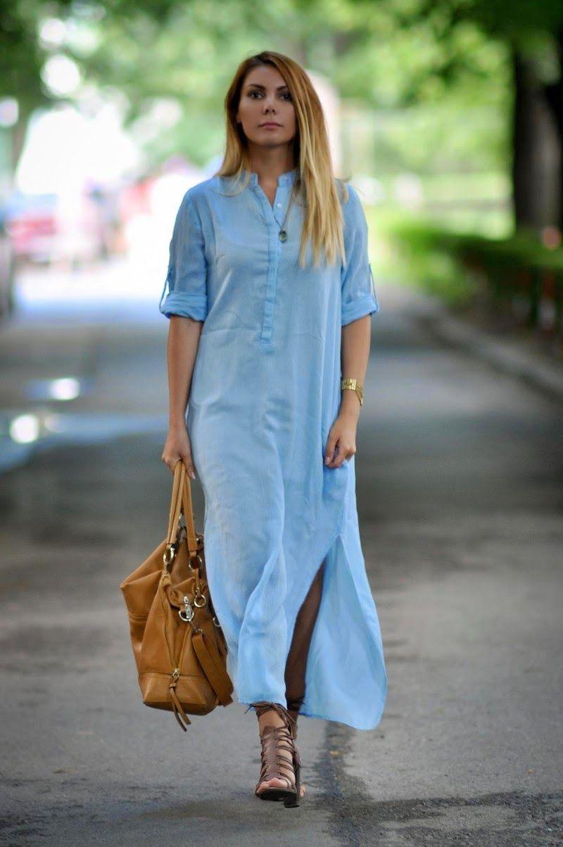 Long shirt dress zara   Color dress   Pinterest   Long shirt dress