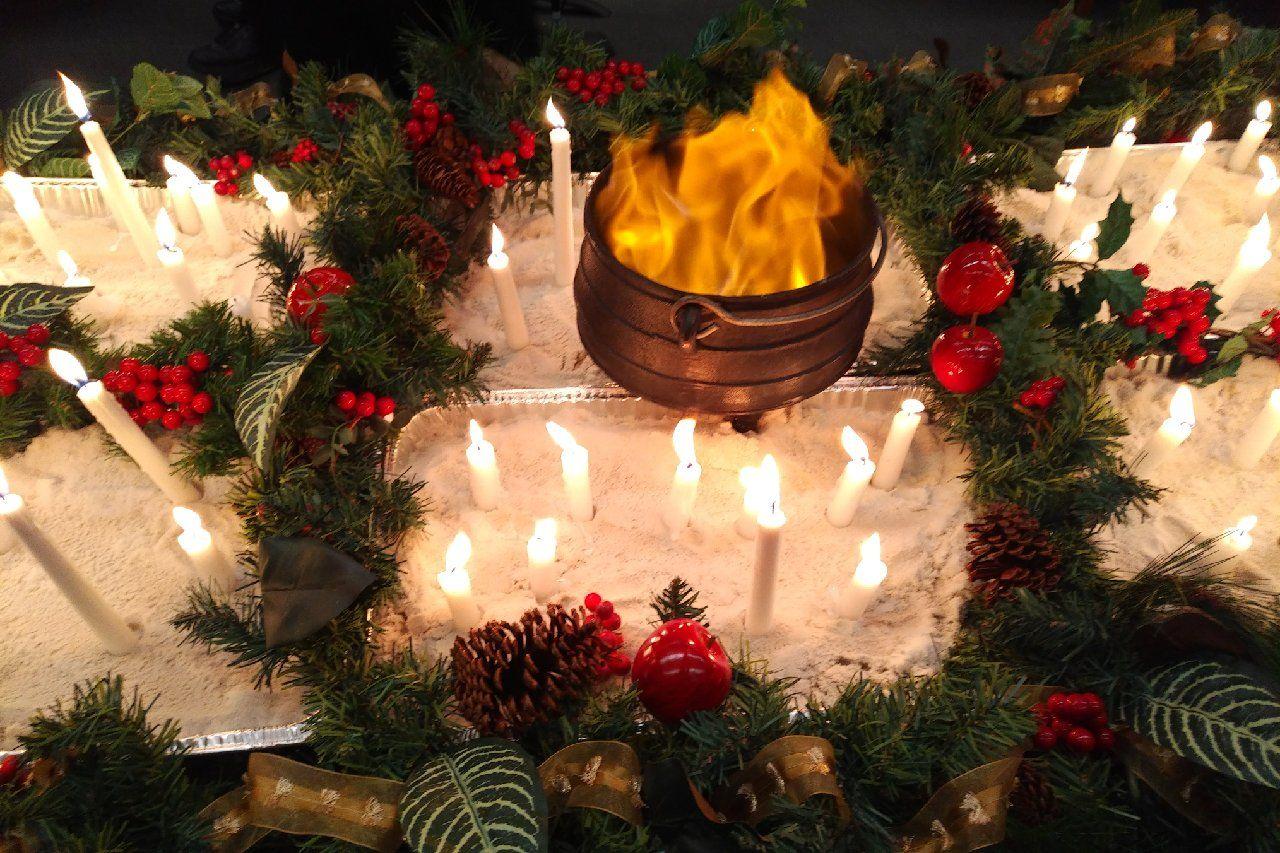 DUUC Winter Solstice. Ritual held in Naperville, Illinois