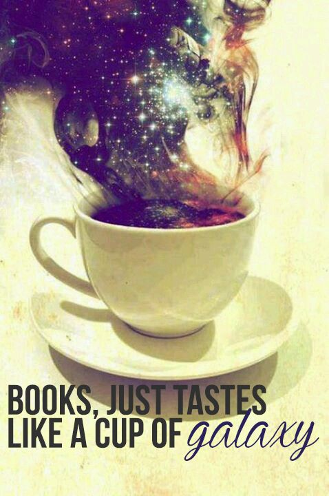 Books and coffee, what else? You will enter to a galaxy of imagination