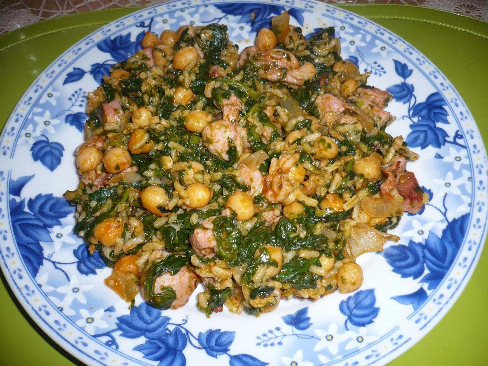 En la cocina con ana dieta pp garbanzos primavera - Ana en la cocina ...
