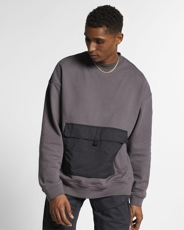 Nike Quest Crewneck Hoodies Men Mens Sweatshirts Hoodie Long Sleeve [ 1501 x 1200 Pixel ]