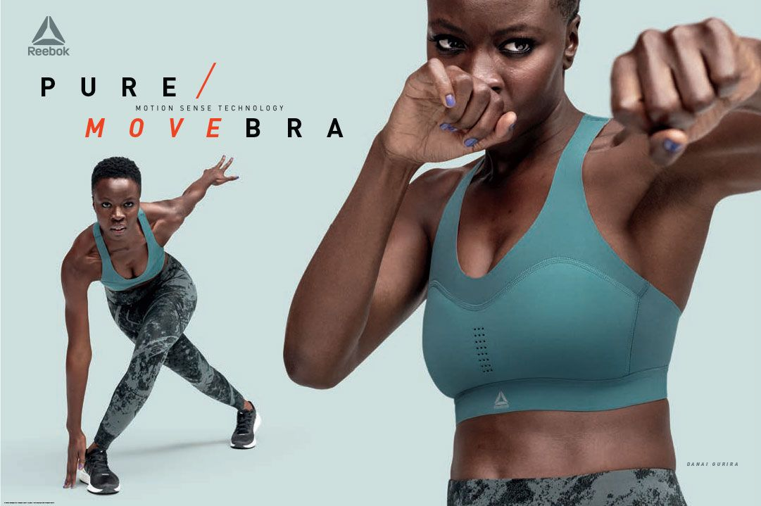 Reebok Pure Move Bra to Help Gain Motivation for Working Out. Flexible Bras perfect for active Movem...