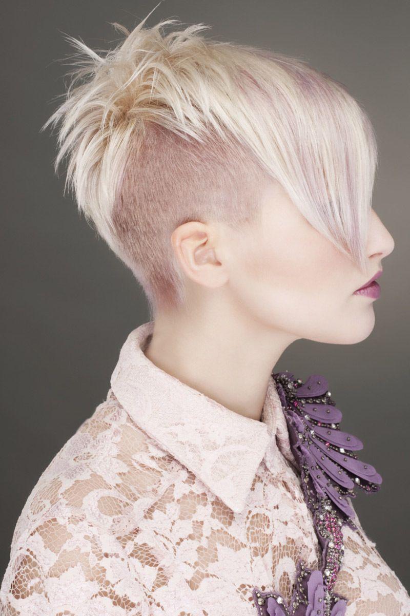 undercut frau lange haare stylen moderne mà nnliche und weibliche