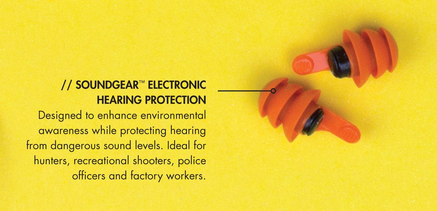 SoundGear Electronic Hearing Protection Electronic