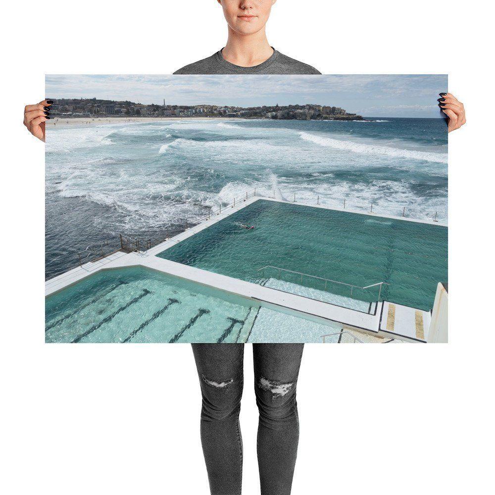 Bondi Icebergs Print Photography Print Bondi Beach Poster