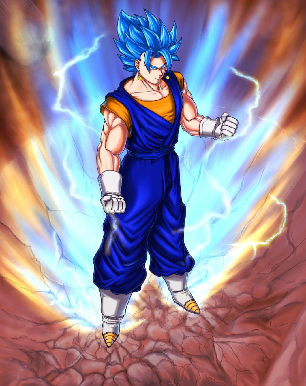Fullpower Vegito Blue Dbz characters, Dragon ball super
