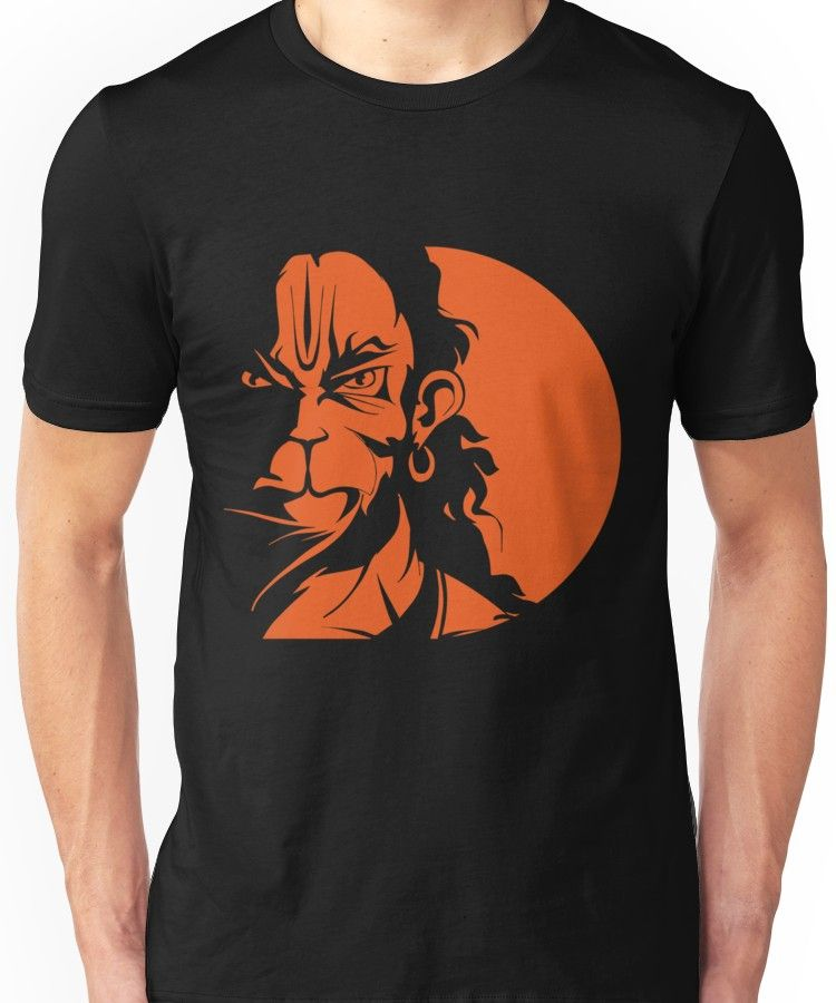 147a56b8b Rudra Hanuman Unisex T-Shirt in 2019 | RIGHTEE T-SHIRT DESIGNE | T ...